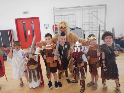 VOX Gibraltar News - St Paul's School Humanities Day
