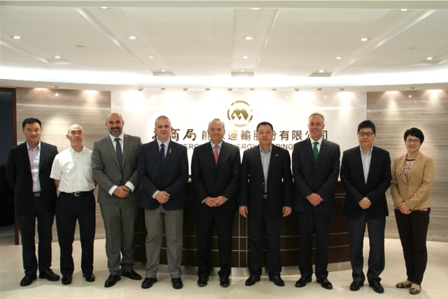 Gibraltar delegation meets with key shipping owners in Hong Kong