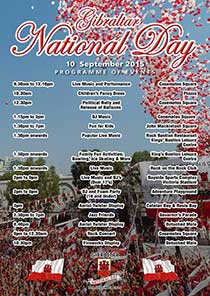 Gibraltar National Day Events 2015